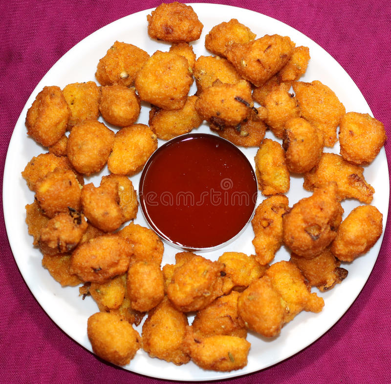 Free Moong Dal Spicy Pakora (Fritter) Royalty Free Stock Photography - 67456437