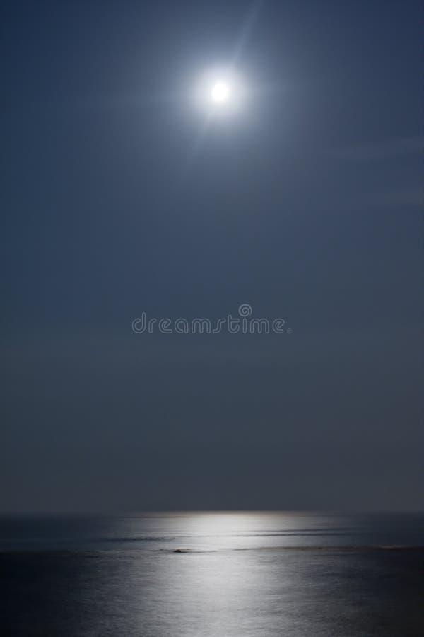Moonlight Sea Royalty Free Stock Photo