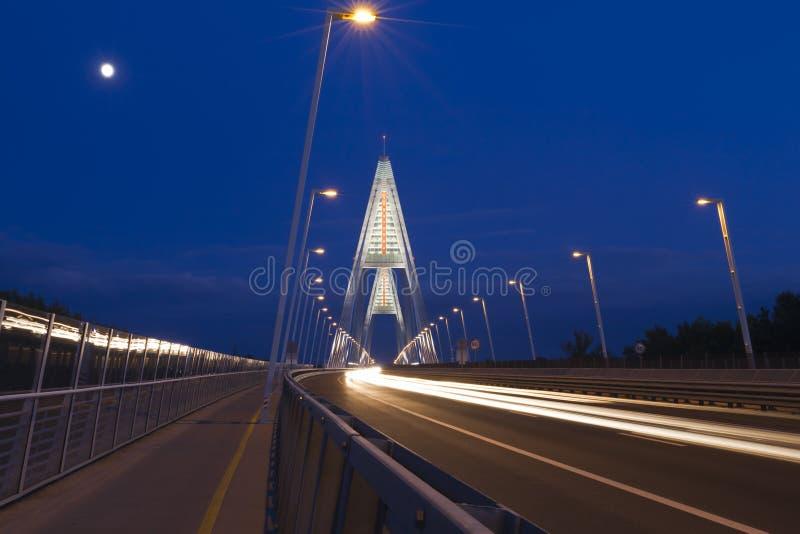 Download Moonlight stock photo. Image of arterial, ride, asphalt - 22465970