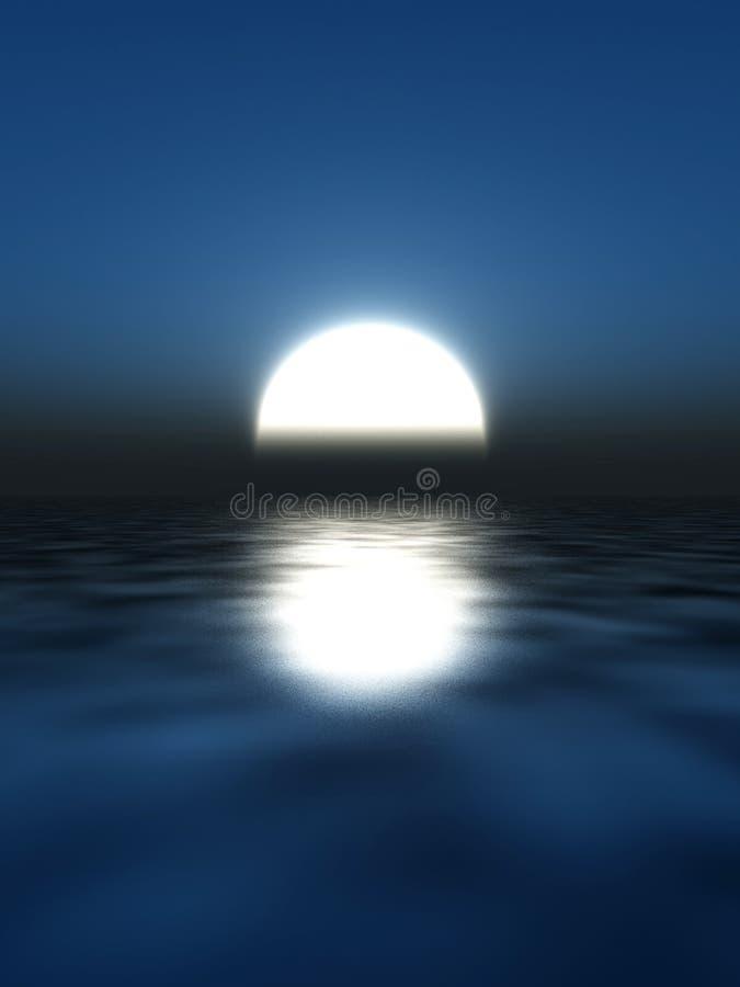 Moonlight royalty free illustration