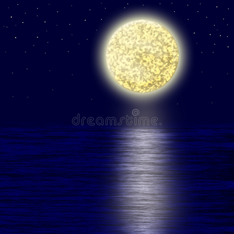 Free Moonlight. Royalty Free Stock Images - 7335799