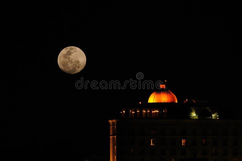 Moonlit imagem de stock royalty free