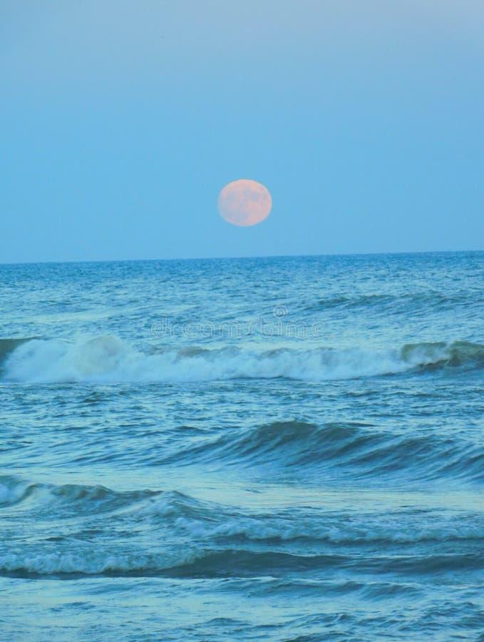 moonrise stockbild