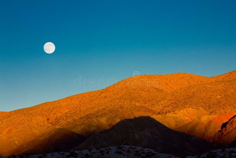 moonrise obrazy royalty free