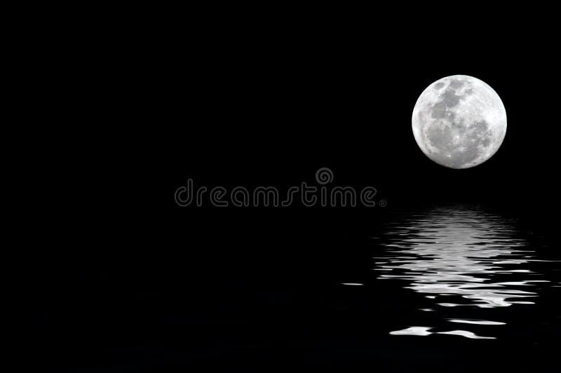 moonrise стоковое изображение