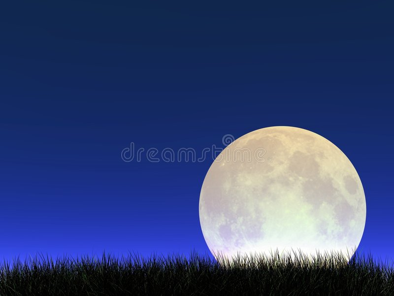 moonrise стоковая фотография