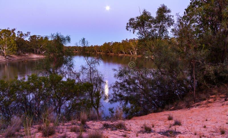 moonrise στοκ φωτογραφίες με δικαίωμα ελεύθερης χρήσης