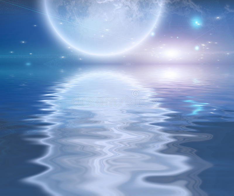 moonrise απεικόνιση αποθεμάτων