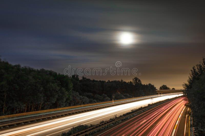 moonrise fotografia stock libera da diritti