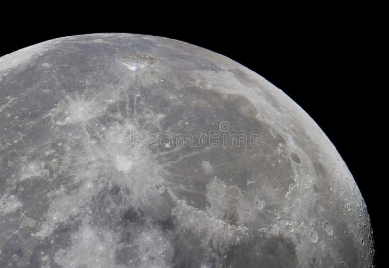 moonscape 免版税库存照片