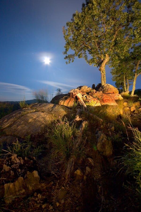 Moonscape stock fotografie