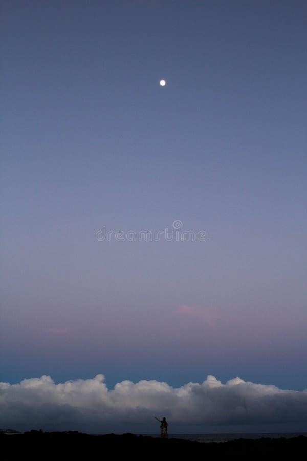 moonscape photo stock