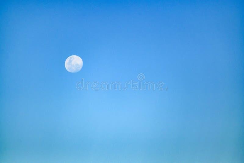 Moonscape dnia scena zdjęcie stock