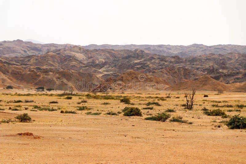 Moonscape jar - Namibia Afryka zdjęcie stock