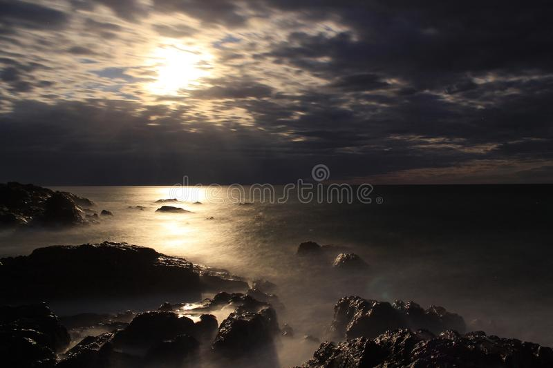 Moonscape royalty free stock photography