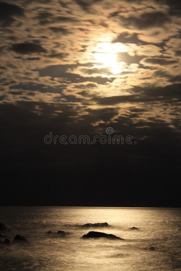 Moonscape royalty free stock images
