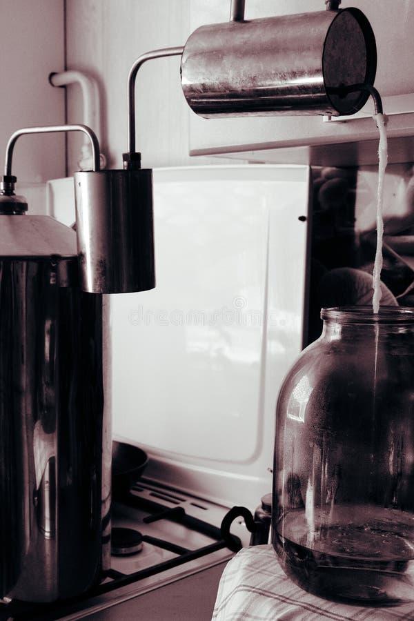 moonshine fotografia stock libera da diritti