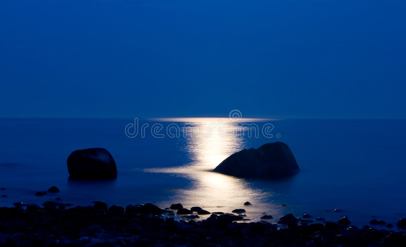 Moonshine fotografie stock libere da diritti