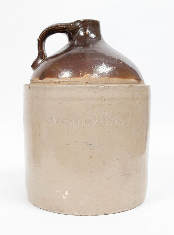 Moonshine jug stock photos