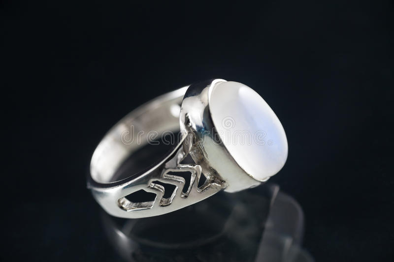 Moonstone ring stock images