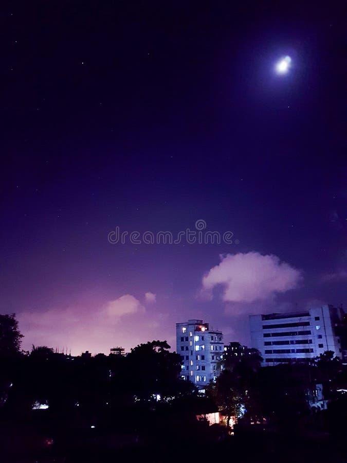 Moonstuck fotografie stock libere da diritti