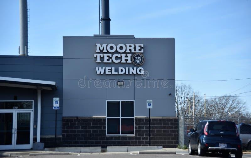 Moore Tech Welding School, Memphis, TN imagenes de archivo