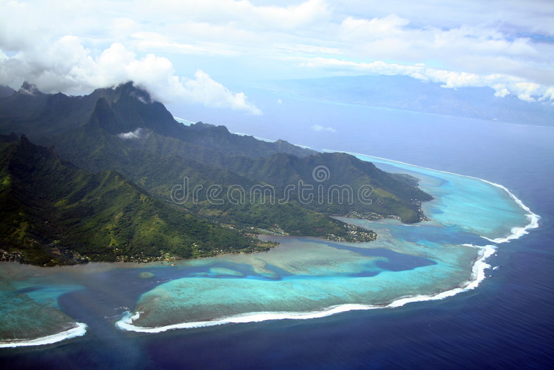 moorea νησιών στοκ φωτογραφία με δικαίωμα ελεύθερης χρήσης