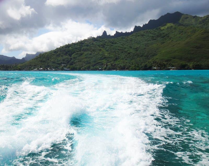Download Moorea foto de archivo. Imagen de bahía, costa, barco - 64201214