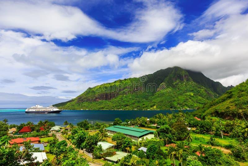 Moorea, Franse Polynesia stock foto's