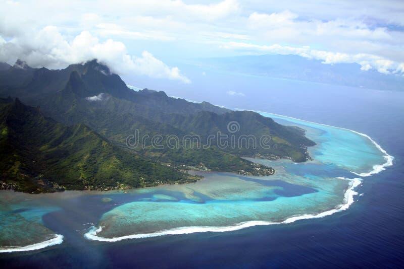 Moorea Insel lizenzfreies stockfoto