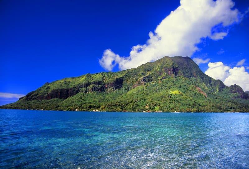 Moorea-Insel-Französisch-Polynesien lizenzfreie stockfotografie