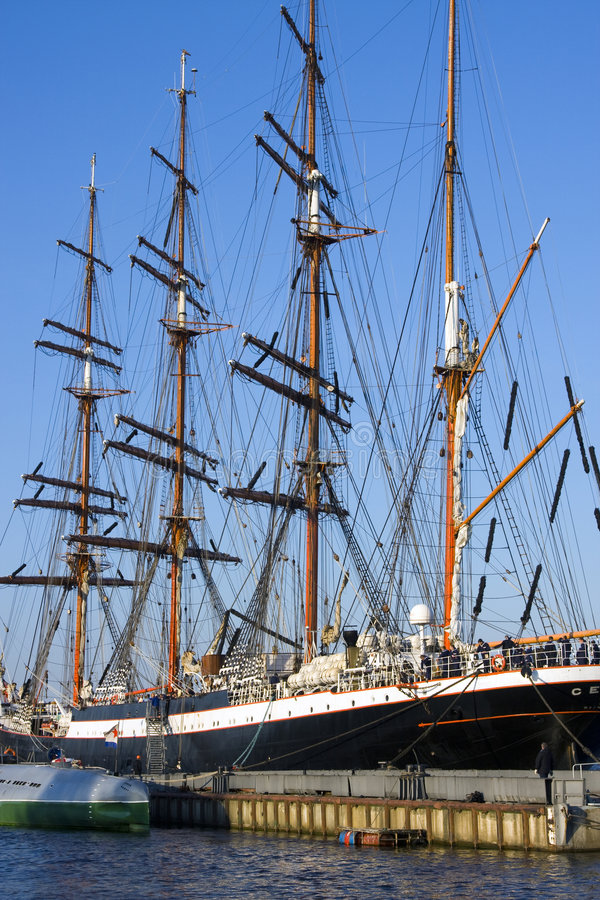 Moored barque 2