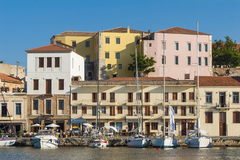 Download Moored Pleasure Boats Chania Editorial Stock Image - Image: 39352409
