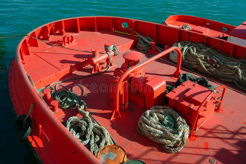 Mooring Ship Free Stock Image