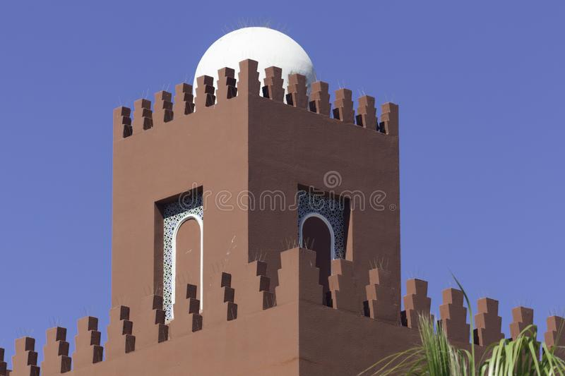 Moorish architecture in southern Spain stock image