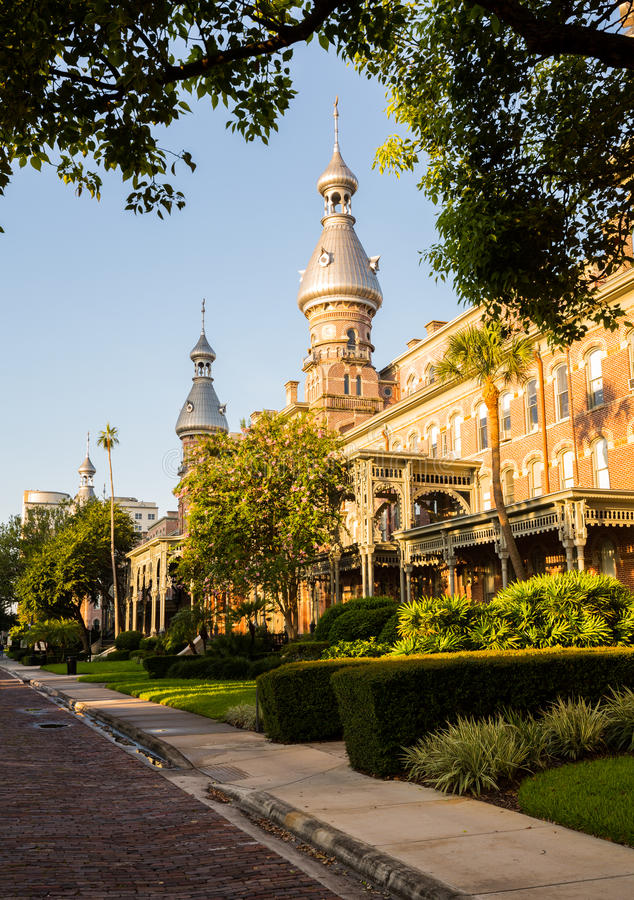 Moorish Architecture of University of Tampa royalty free stock photography