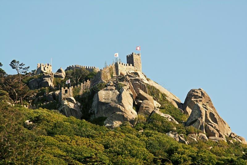 Moorish castle royalty free stock images