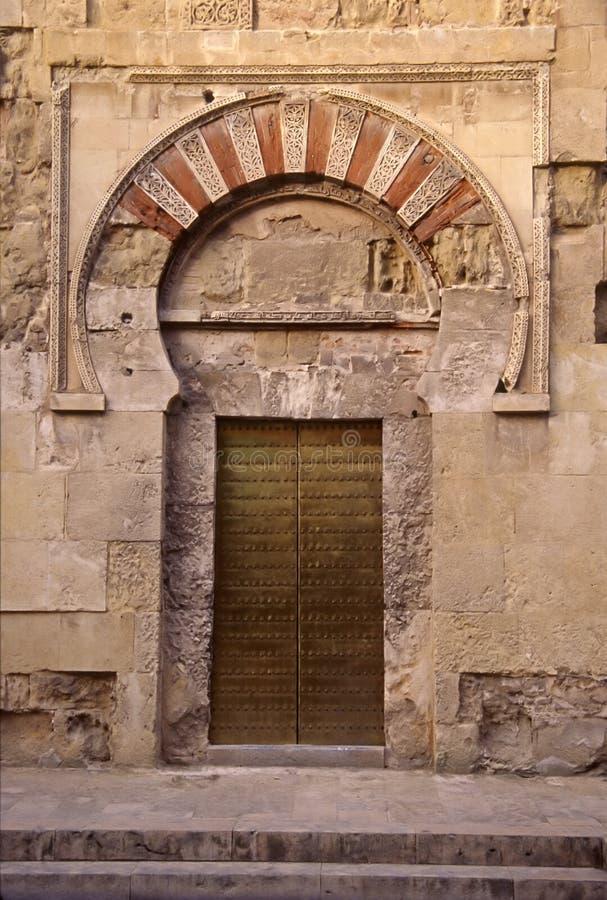Download Moorish Door stock image. Image of door, metal, mezquita - 194947