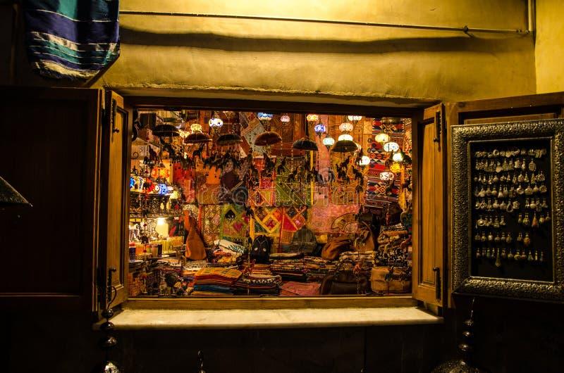 Arabic shop in Granada royalty free stock images