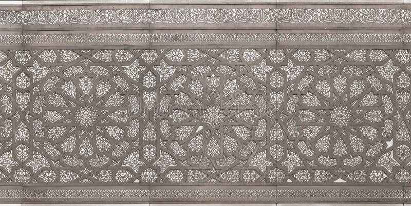 Moorish Metal Pattern royalty free stock image