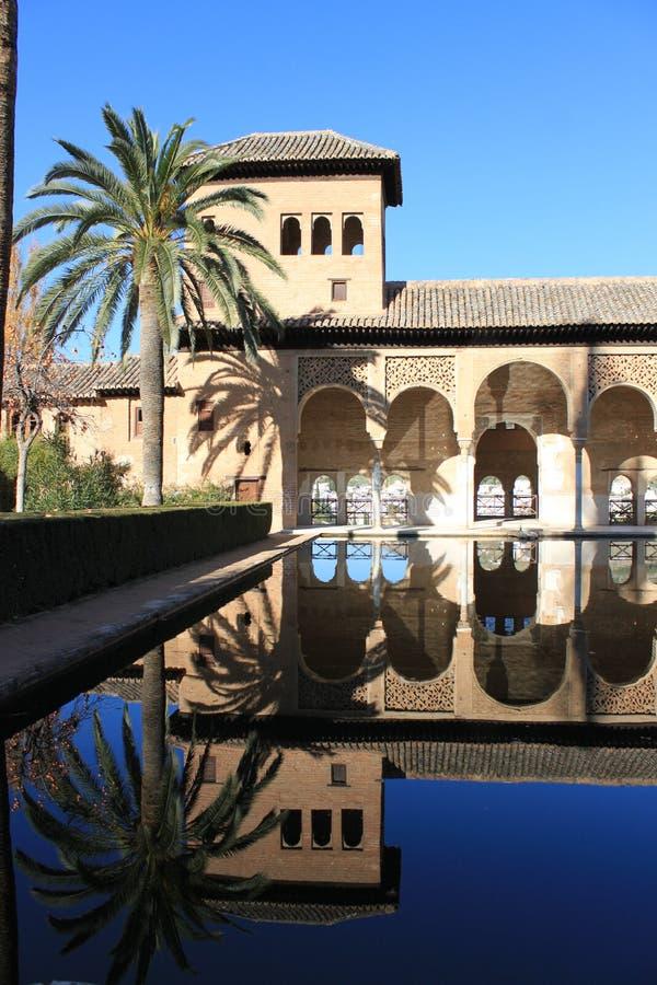 Moorish Reflection Stock Photography