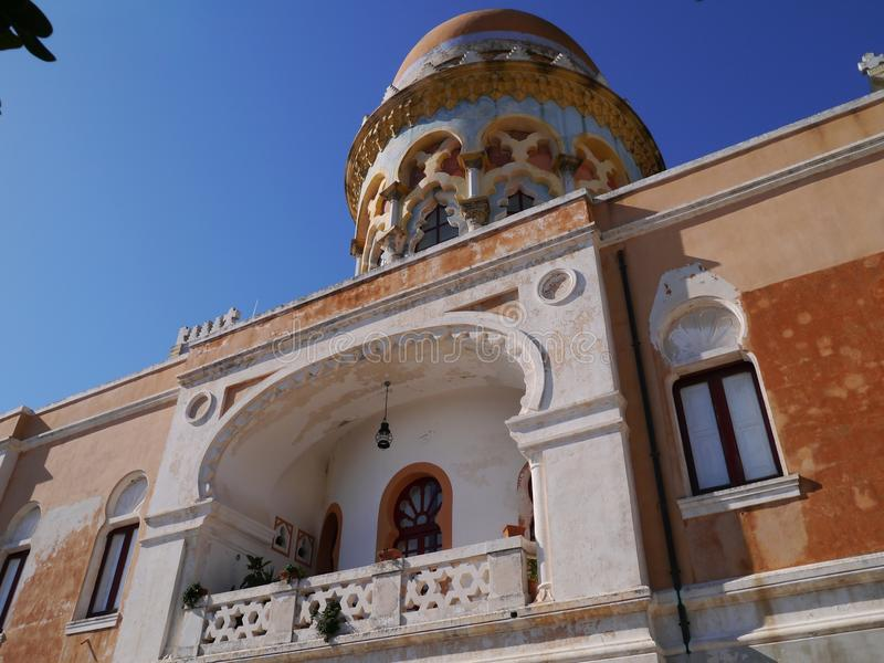 The Moorish Villa Sticchi In Salento Royalty Free Stock Photo