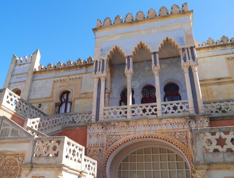 Download The Moorish Villa Sticchi In Salento Stock Image - Image of estate, colors: 27399685