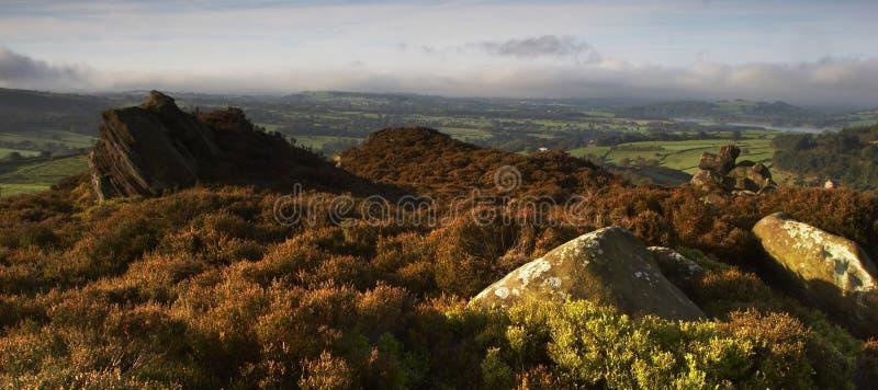 moorland rock fotografia royalty free