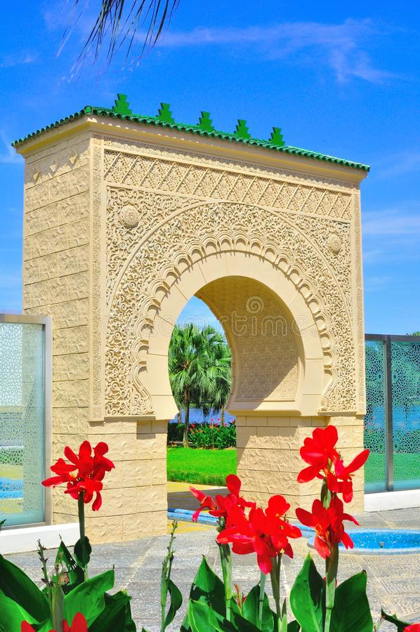 Download The moors arch stock photo. Image of doors, elegant, architecture - 21499242