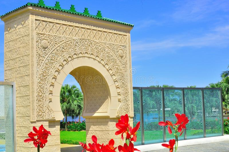 Download The moors arch stock image. Image of classical, background - 21499295