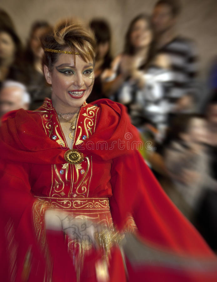 Moors & Christians Fiesta - Spain royalty free stock photography