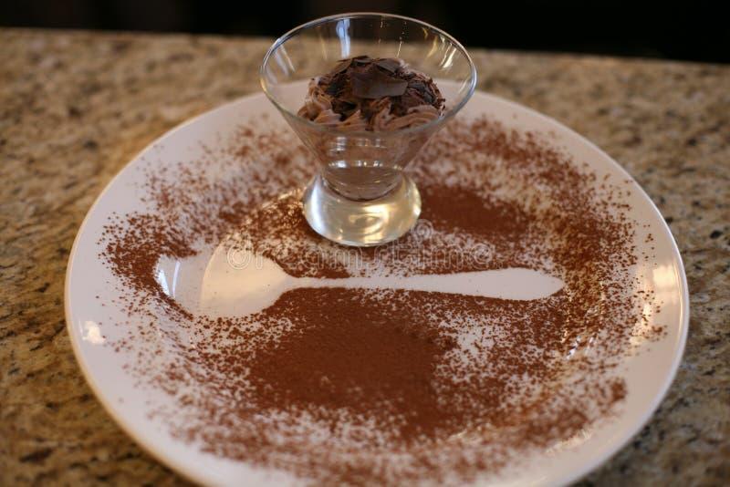 Moos шоколада стоковая фотография