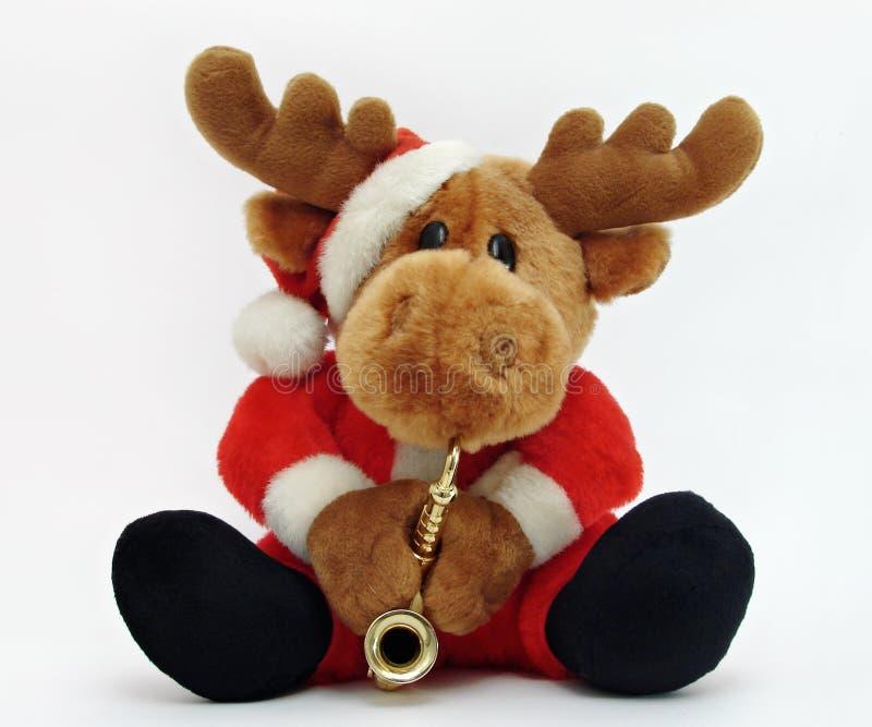 moose świąteczne zdjęcie stock