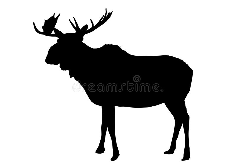 moose 2 royalty ilustracja